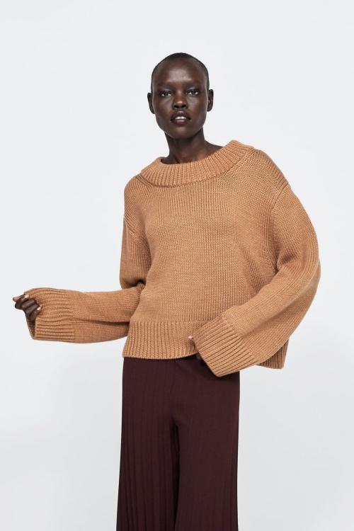 Zara - Pull côtelé épais édition limitée