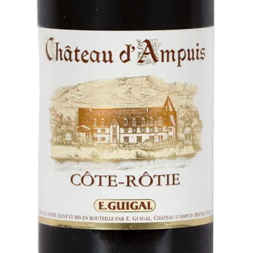 E. Guigal - Bouteille de Vin Rouge 2015 Château d'Ampuis