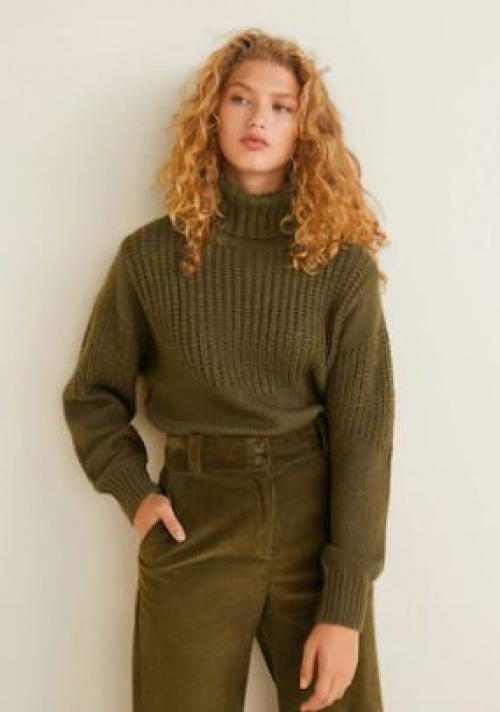 Mango - Pull-over combiné maille