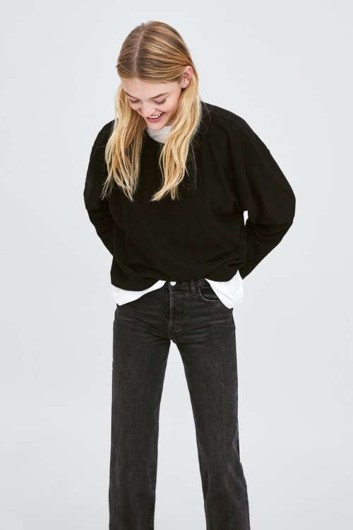 Zara - Sweat-shirt structuré