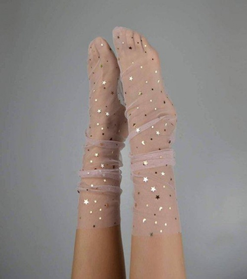 Lirika Matoshi - Chaussettes avec étoiles