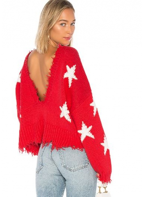 Wildfox Couture - Pull étoiles