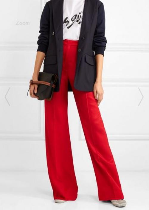 Golden Goose Deluxe Brand - Pantalon large en coutil Carrie