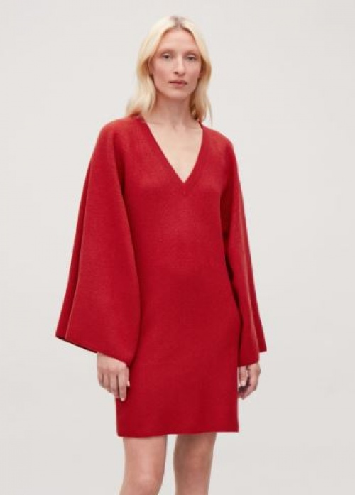 COS - Robe rouge