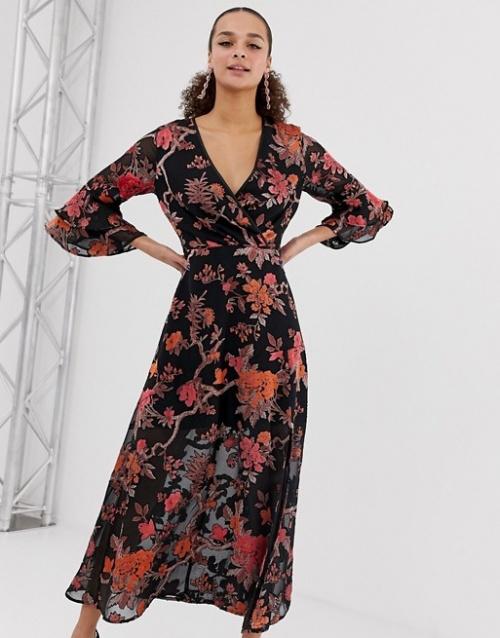 Miss Selfridge - Robe imprimée