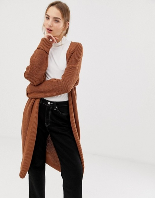 ASOS DESIGN - Cardigan long