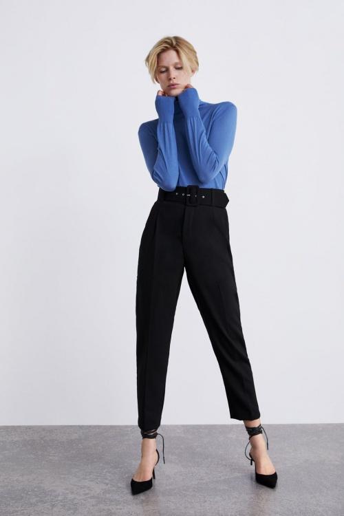 Zara - Pantalon ceinturé