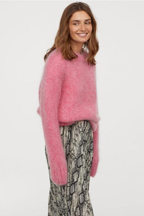 H&M - Pull en laine mélangée