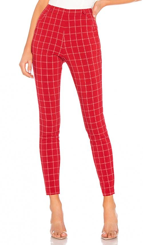 H:ours - Pantalon à carreaux