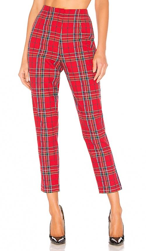 L'Academie - Pantalon à carreaux