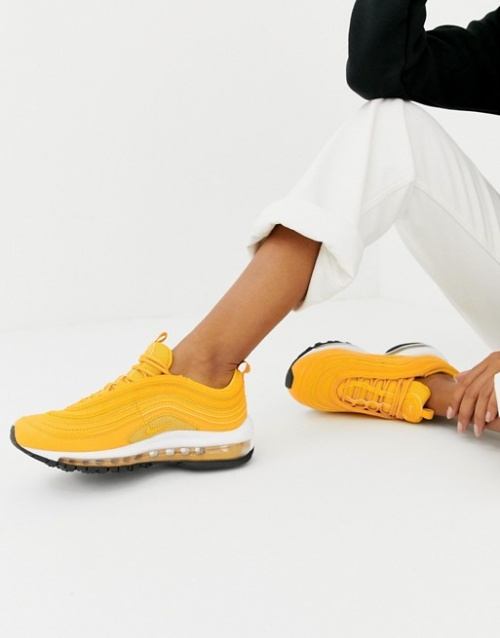 Nike - Air Max 97 - Baskets - Jaune