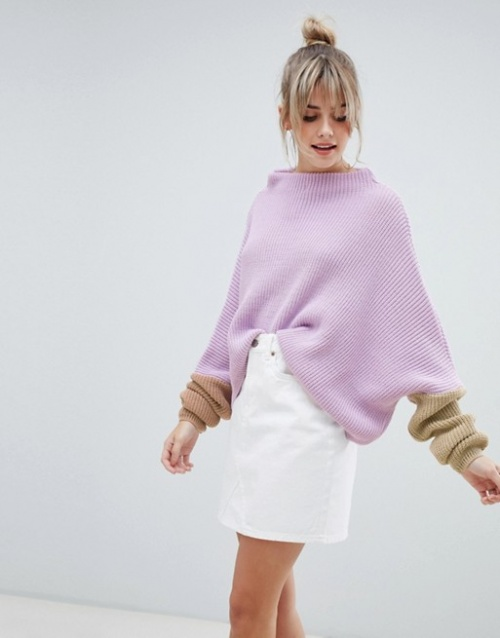 PrettyLittleThing - Pull color block oversize