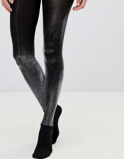 Wolford - Wilma - Collants brillants effet métallisé