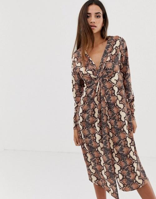 ASOS DESIGN - Robe imprimée