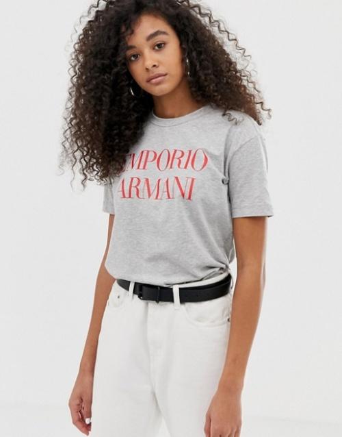 Emporio Armani - T-shirt à logo