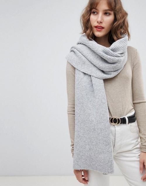 Selected femme - Écharpe en laine