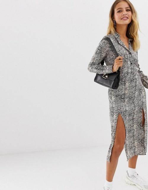 Wednesday's Girl - Robe imprimée