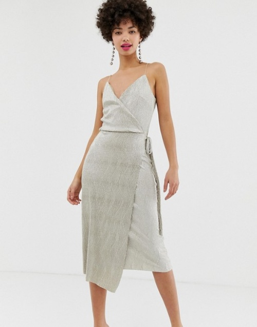 River Island - Robe portefeuille