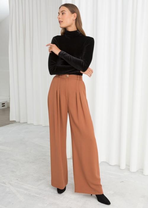 & Other Stories - Pantalon large