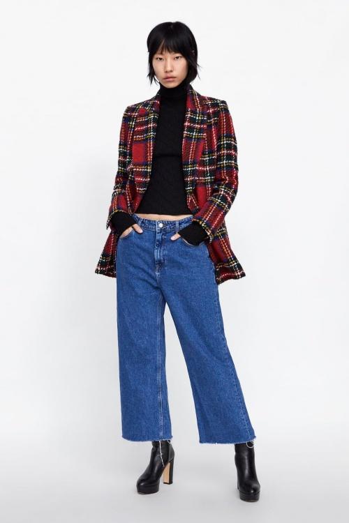 Zara - Blazer en tweed
