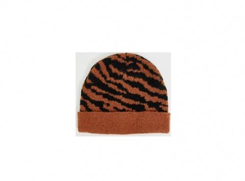 Asos Design - Bonnet à Imprimé Tigre