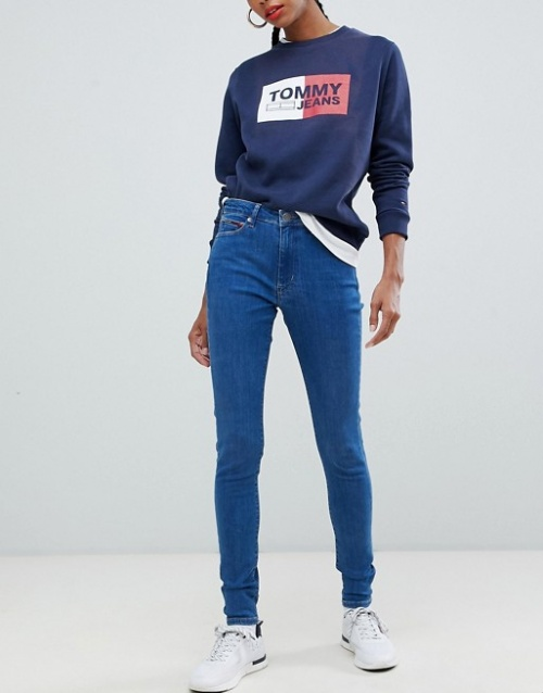 Tommy Jeans - Jean skinny à taille super haute