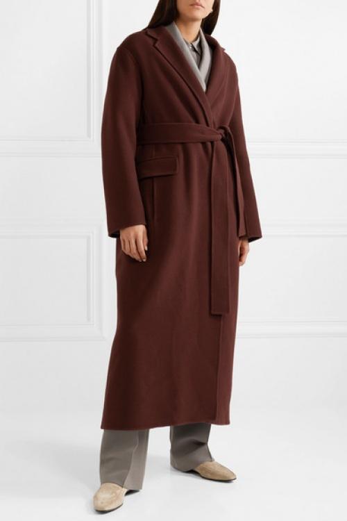 The Row - Manteau en feutre de laine et cachemire mélangés Amoy