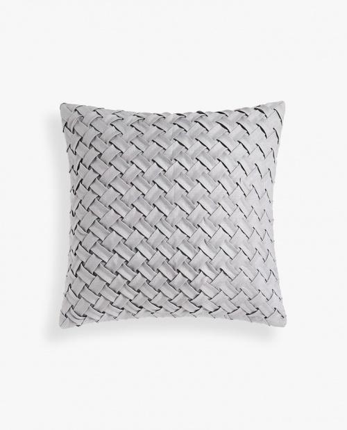 Zara Home - Housse de coussin lin plissée