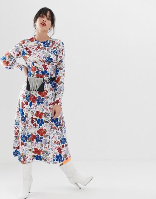 Essential Antwerp - Robe imprimée