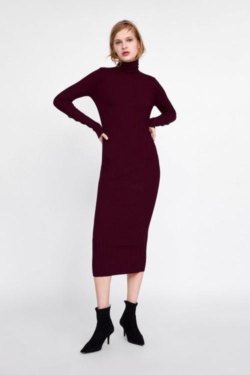 Zara - Robe longue moulante