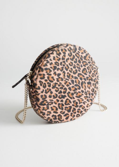 & Other Stories - Sac rond léopard