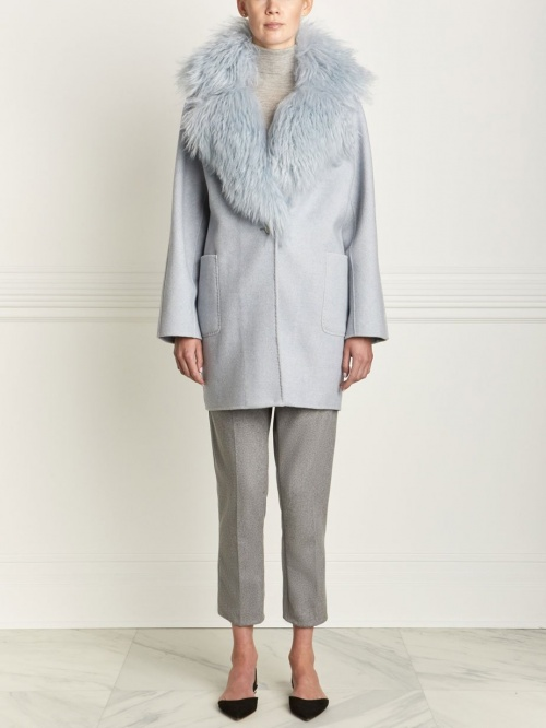 Pologeorgis - Manteau avec col