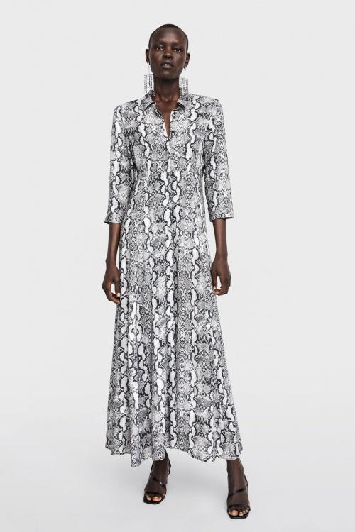 Zara - Robe imprimée
