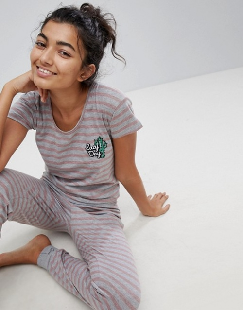 Hey Peachy - Lazy Day - Onesie rayée