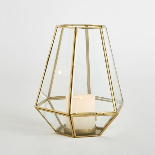 La Redoute Interieurs - MILUDI - Photophore en verre et métal