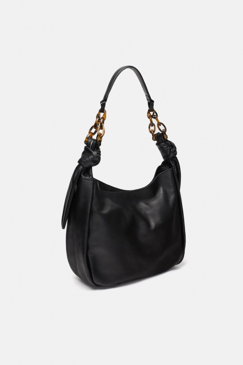 Zara - Sac shopper en cuir