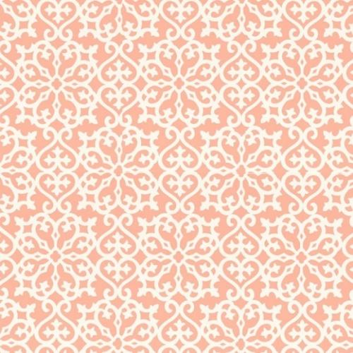 Thibaut- Papier peint corail Allison