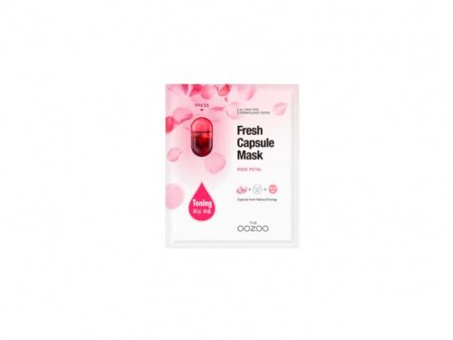 Oozoo - Fresh Capsule Mask Rose Peta