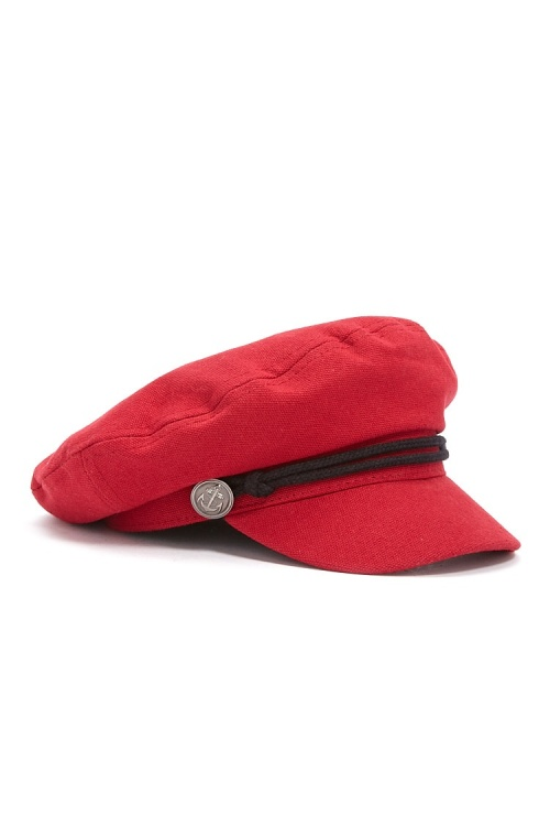 Forever 21- Casquette gavroche rouge