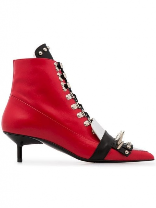 Marques' Almeida- Boots rouges