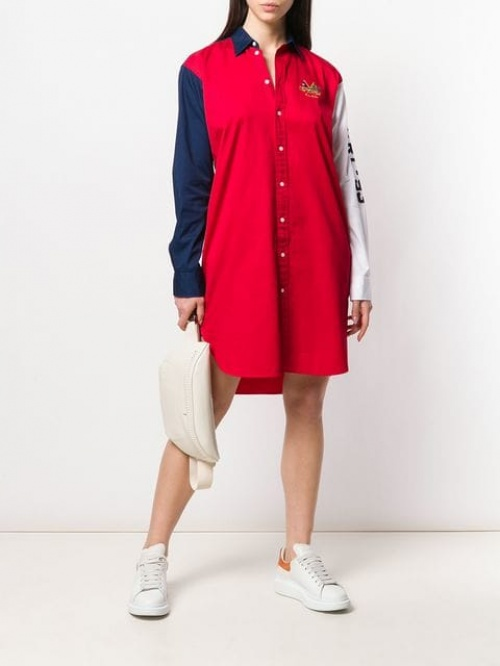 Ralph Lauren- Robe chemise