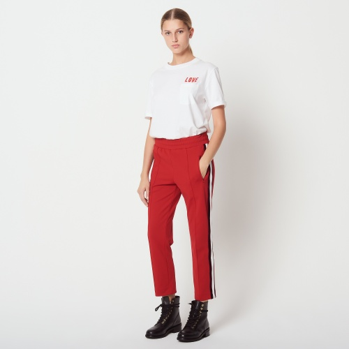 Sandro- Pantalon effet jogging