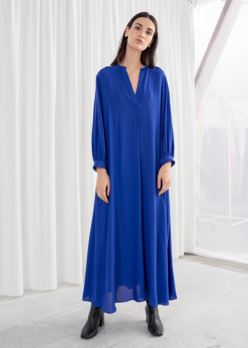 & Other Stories - Kaftan robe maxi