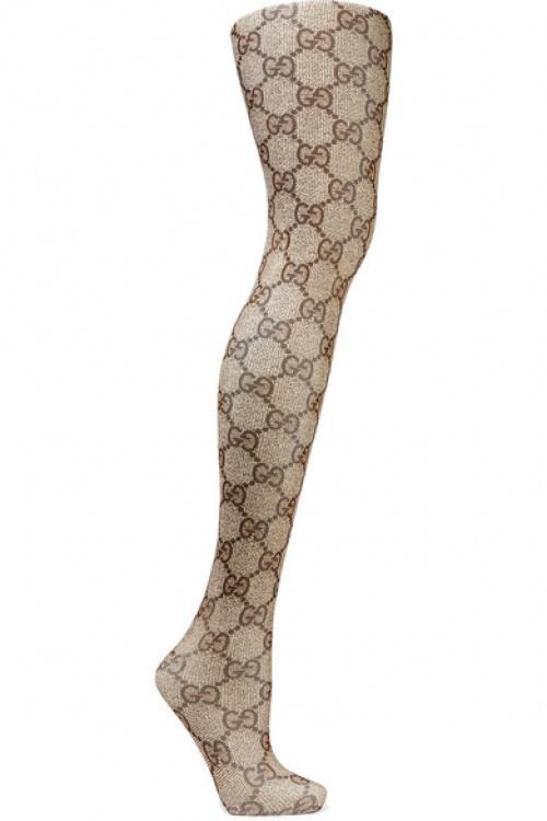 Gucci - Collant en maille à motifs