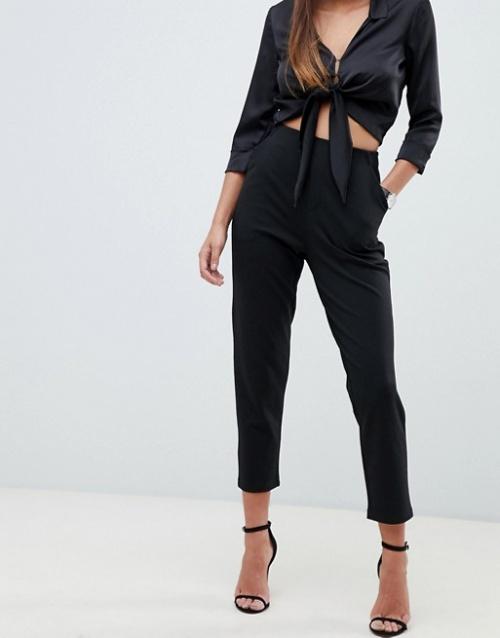 ASOS DESIGN - Pantalon basique habillé en jersey coupe ajustée