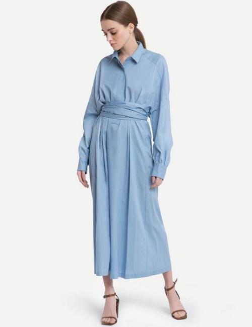 Pixie Market -- Robe chemise wrap
