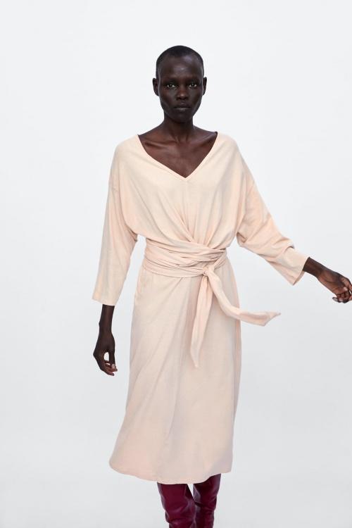 Zara - Robe avec noeud