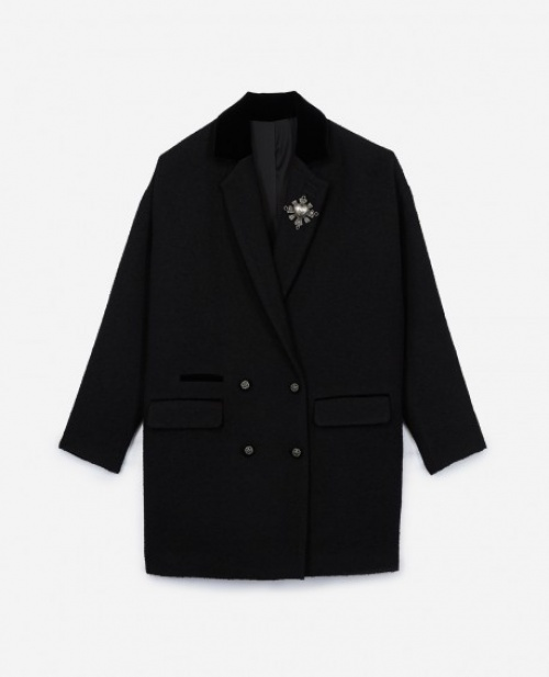 The Kooples - Manteau en velours