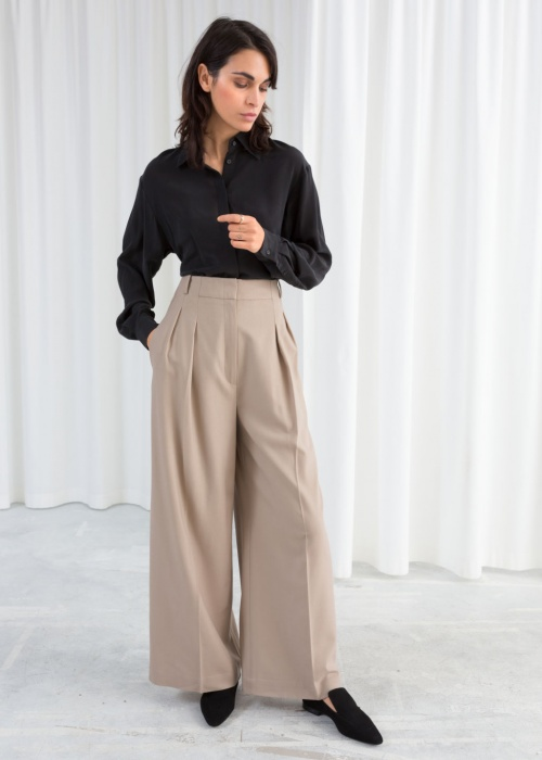 & Other Stories - Pantalon large