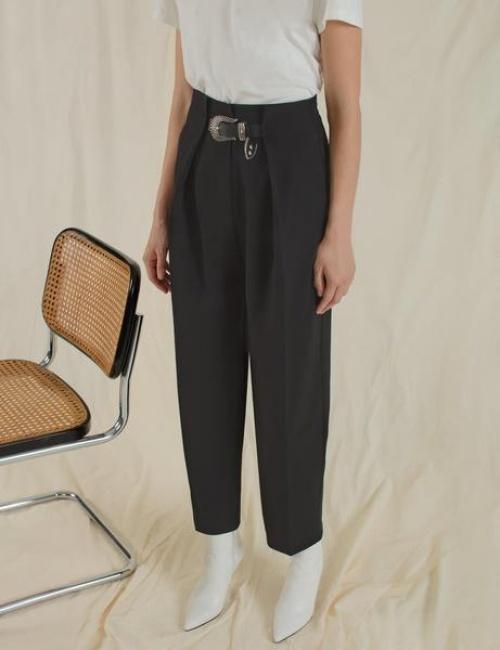 Pixie Market - Pantalon Western à ceinture